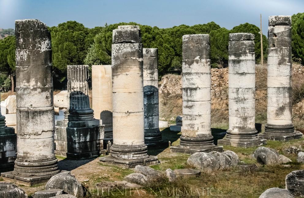 Colonnade of the Artemis Temple, Sardes.