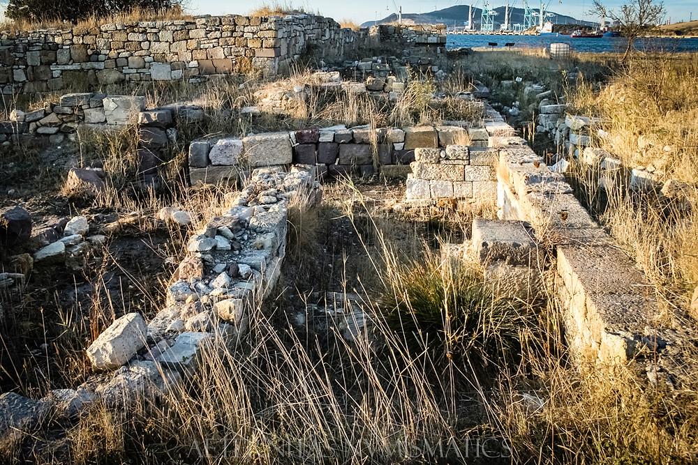 Late roman castle, Kyme