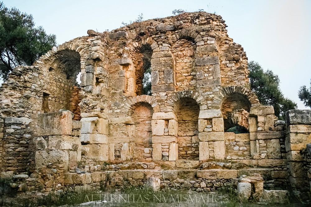 library of Nysa, Turkey