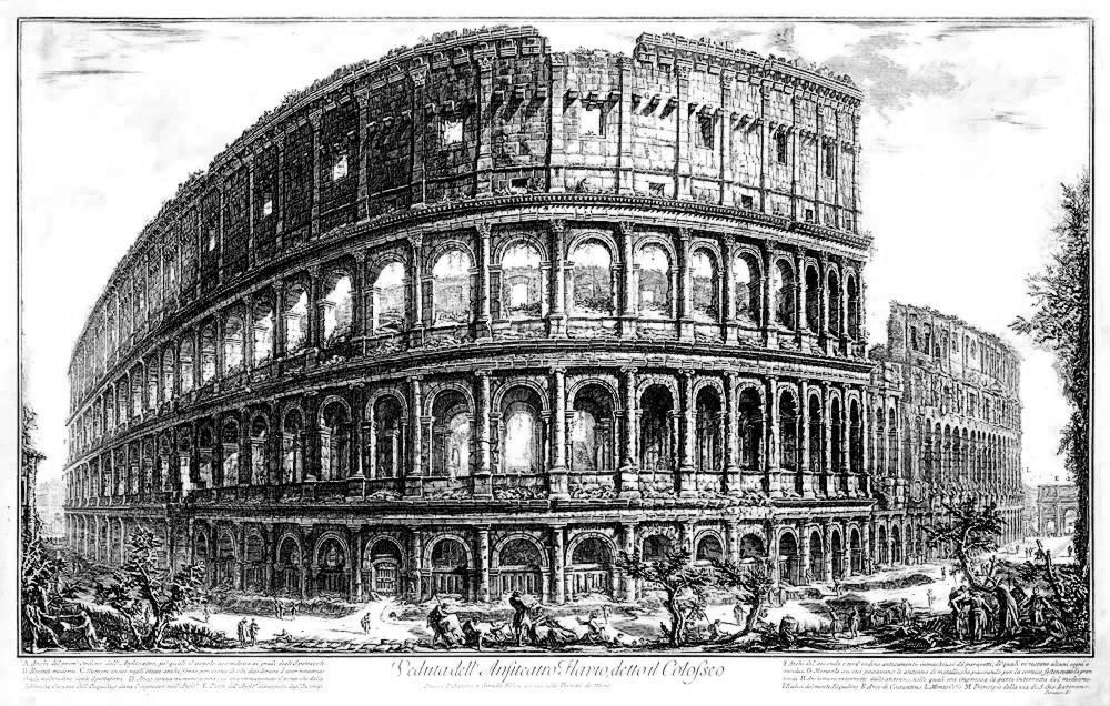 Flavian amphitheater, Coliseum Rome