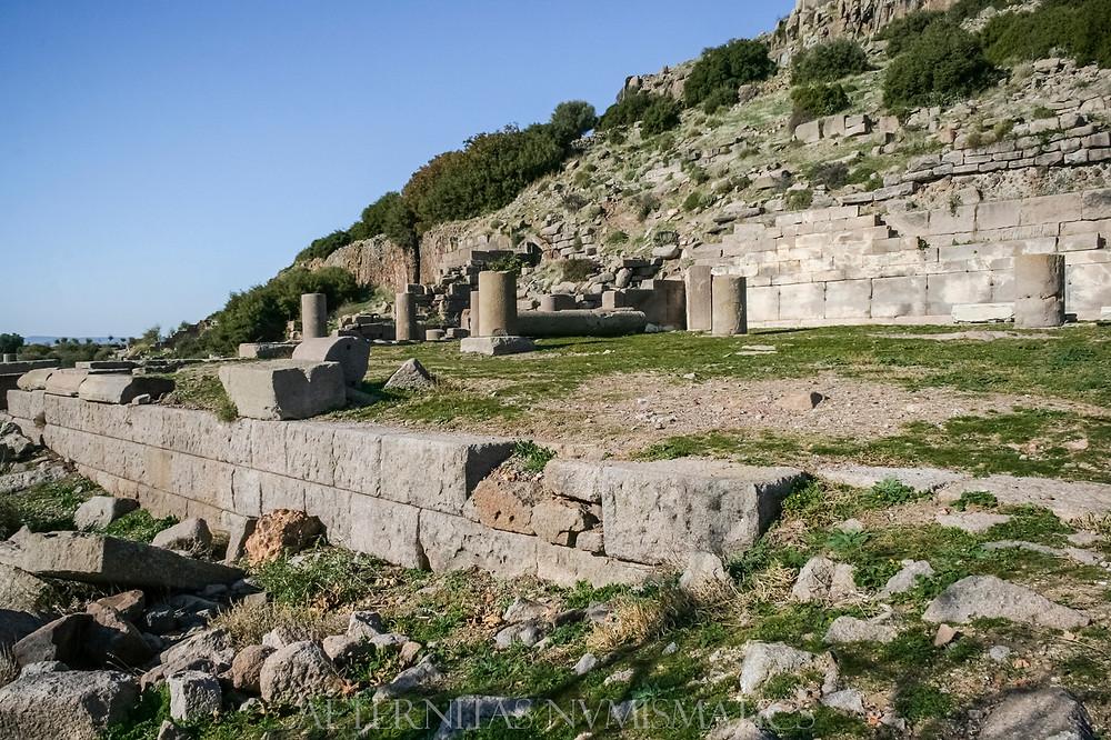The Bouleterion of Assos, Turkey