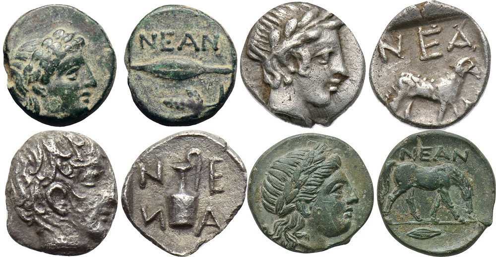 Coins from Neandria, Turkey