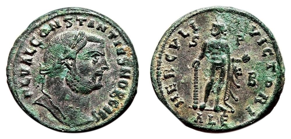 Follis Caesar Constantius Chlorus