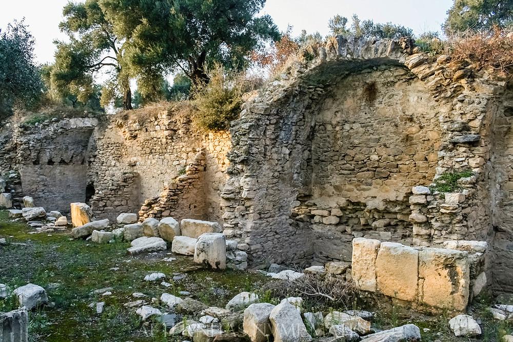 agora of Nysa, turkey