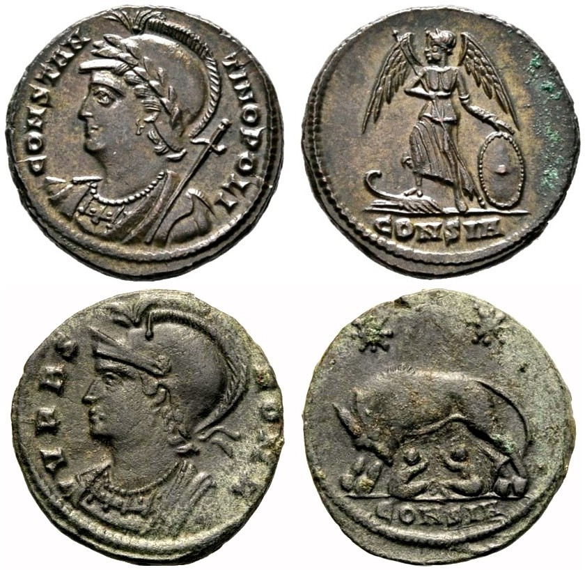 Numismatic Coins of Constantinople