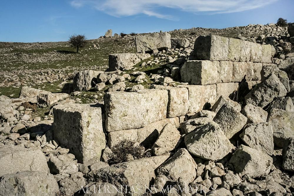 Four century wall of Neandria, Turkey