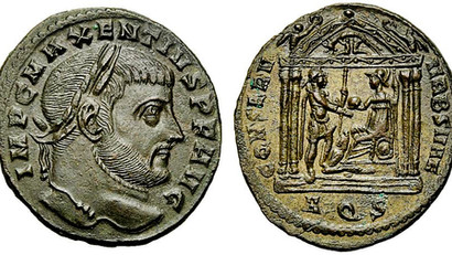LIBERATORI/RESTITVTORI VRBIS SVAE or the entrance of the city of Rome in the orbit of Constantine. I