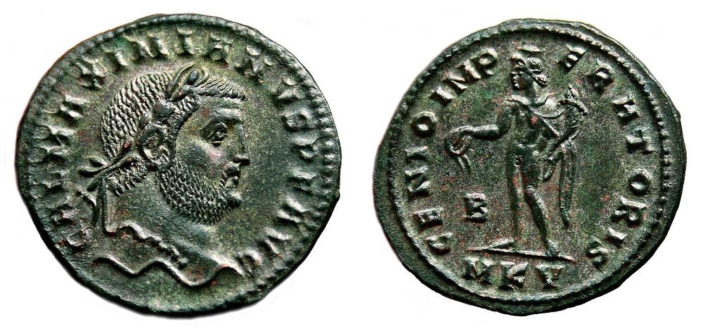 Follis: augustus Galerius.
