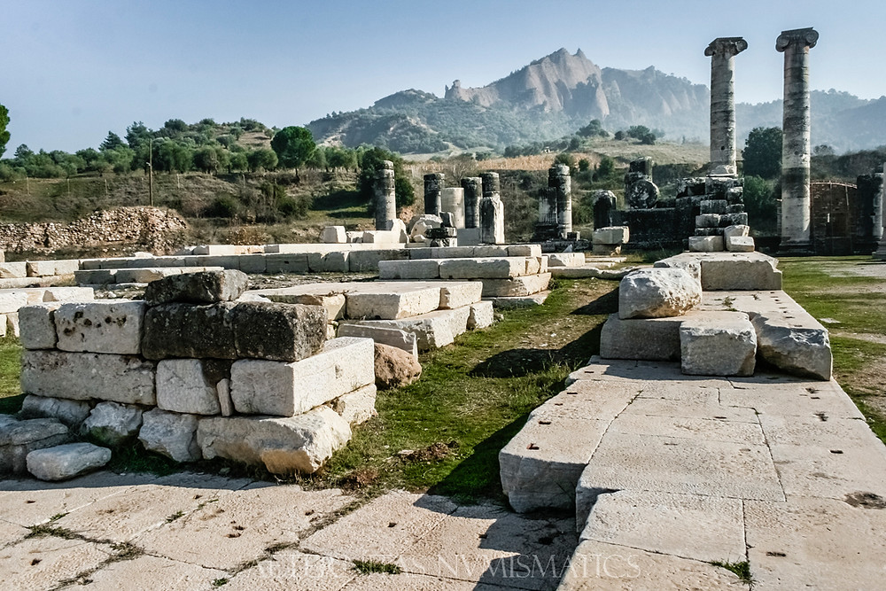 Wall of the cella Artemis Temple in Sardes