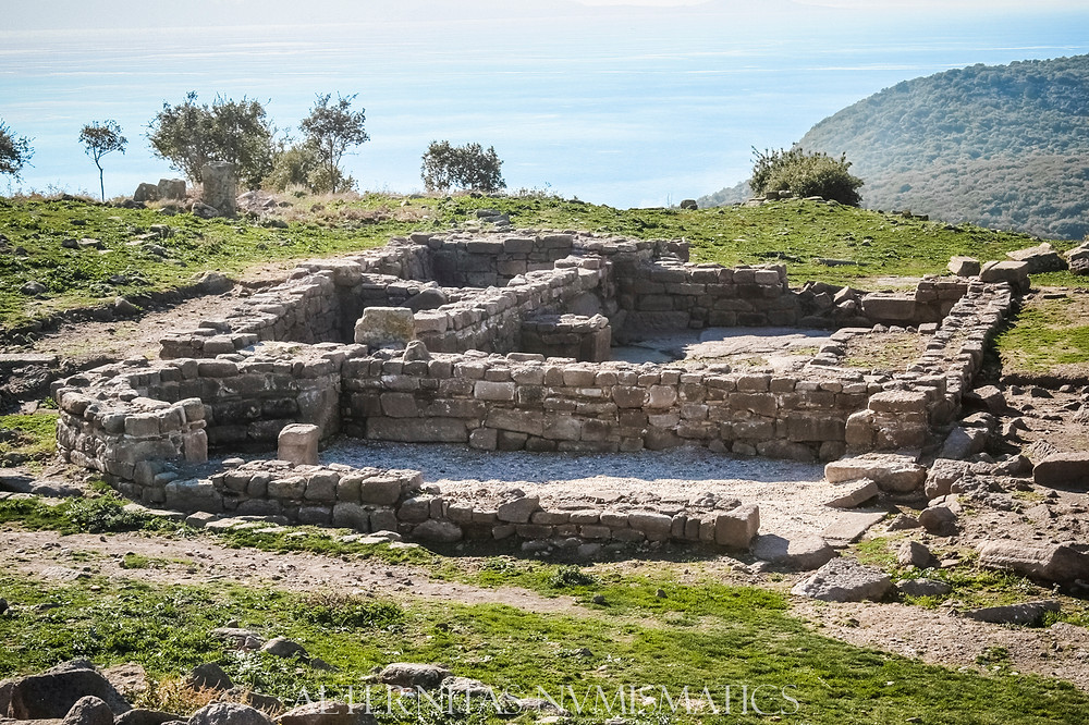 Ancient residential area located very close to the southwest entrance to the city.