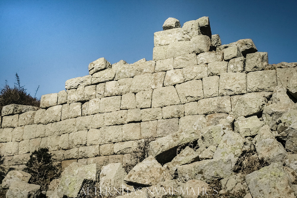 Helenistic wall of Neandria, Turkey