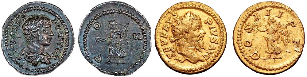Severus coins