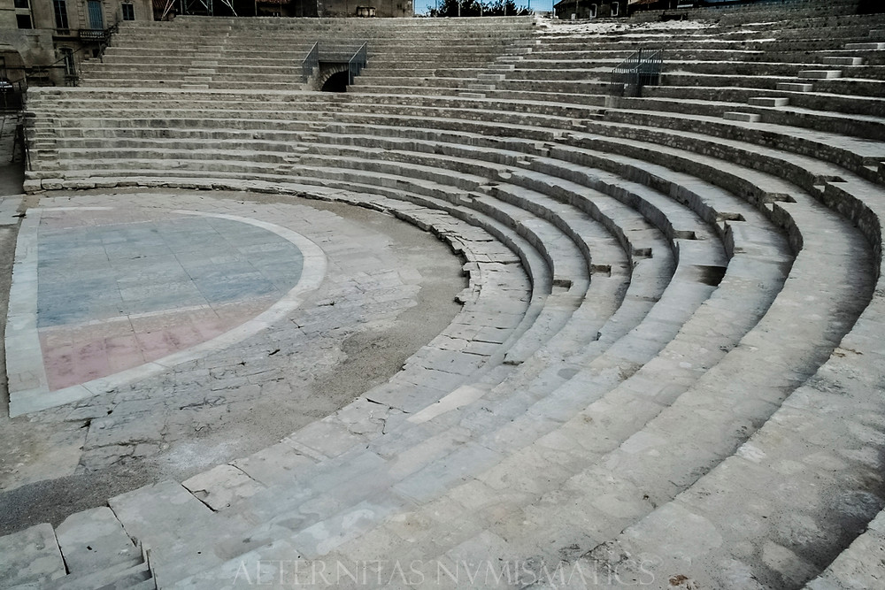 Ruins of the Arelate Roman Theater