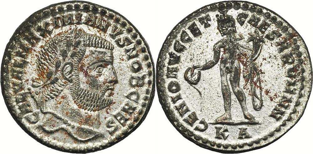Follis: caesar Galerius