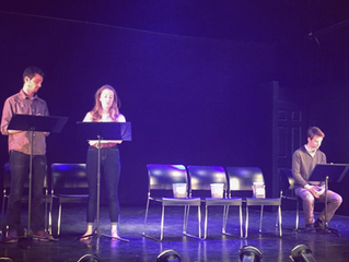 The Saddest Word at the Manhattan Reading Competition
