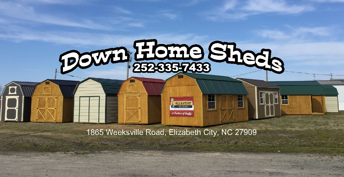 Down Home Sheds and Metal Buildings-Elizabeth City, NC-Old