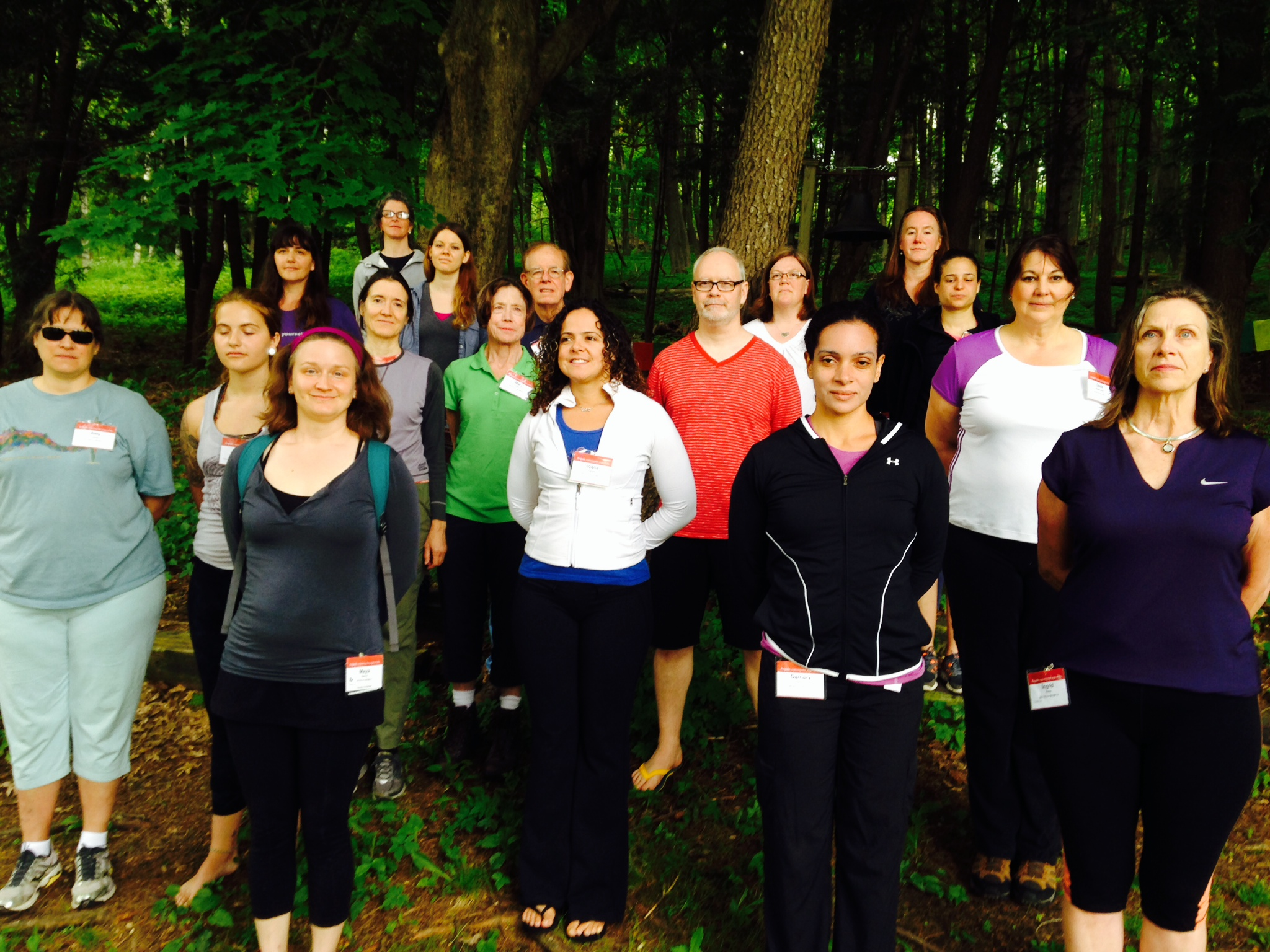 Yoga and Walking 2014