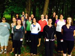 Yoga and Walking 2014
