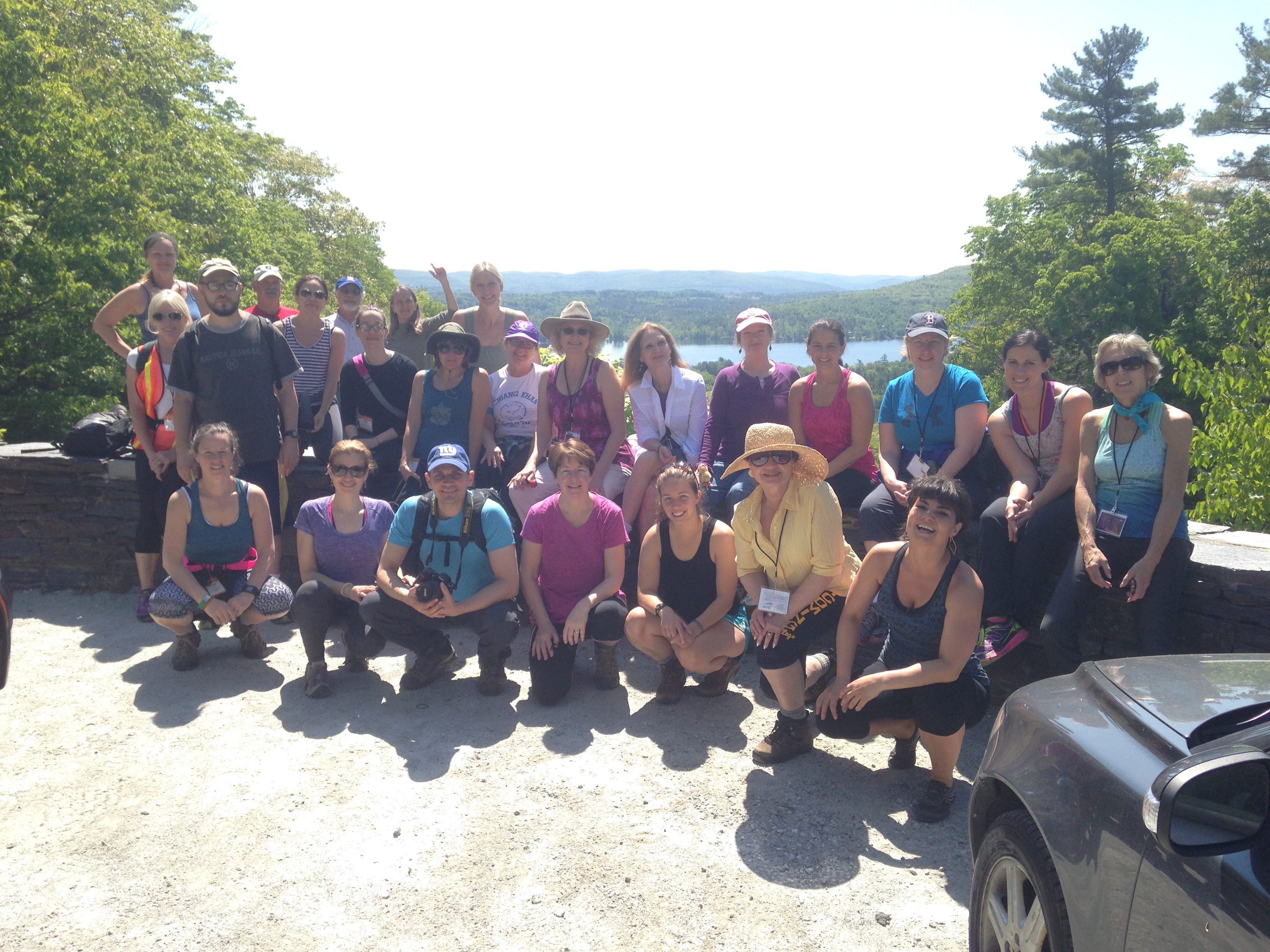 Yoga & Walking at Kripalu 2015