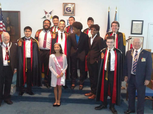Woodlawn Chapter's Installation of Officers