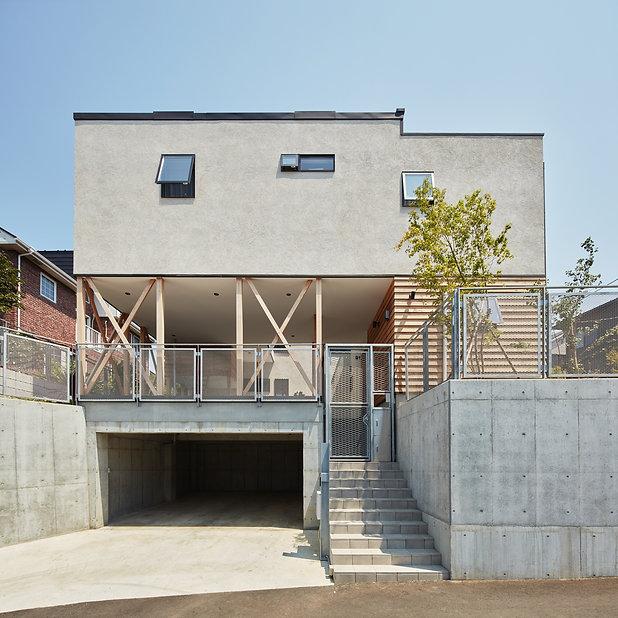 Triple Stilt House