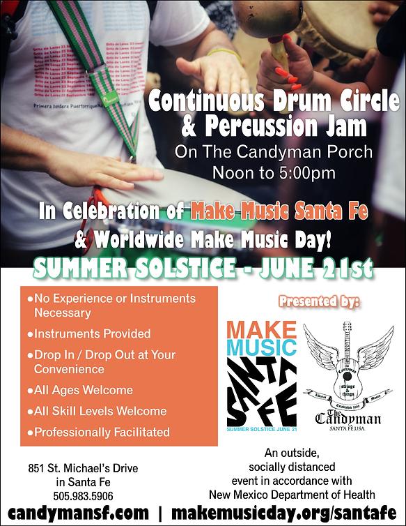 Drum Circle Percussive Jam Flyer Image.p