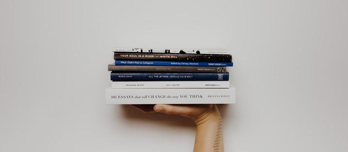 Eine Handvoll Bücher