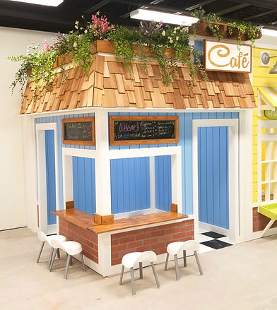 Kids Play Cafe by Imagine THAT Playhouses