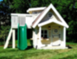 An Upsized Residence Playhouse