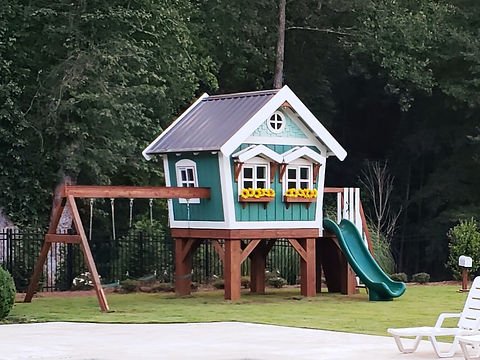Craftsman Treehouse by Imagine THAT Playhouses