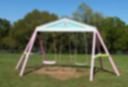 Gable Swing Beam by Imagine THAT Playhouses