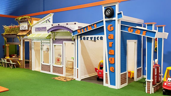 Kids Play Town by Imagine THAT Playhouses