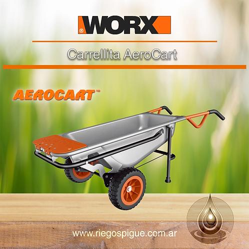 CARRETILLA MULTIFUNCION AEROCART Y ACCESORIOS _ 8 FUNCIONES _ WORX WG050