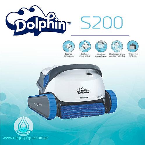 ROBOT DOLPHIN S200 BARREFONDO DE PILETA (TREPA PARED)
