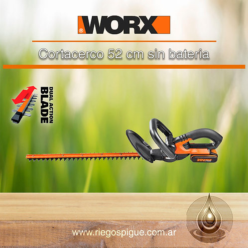 CORTACERCO A BATERIA _ WORX WG259E _ NO INCLUYE BATERIA