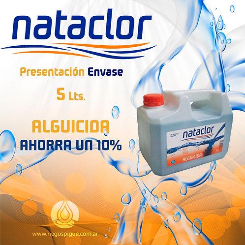 ALGUICIDA DE 5 LITROS NATACLOR RINDE +