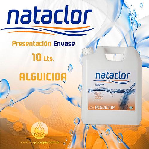 ALGUICIDA DE 10 LITROS NATACLOR RINDE +