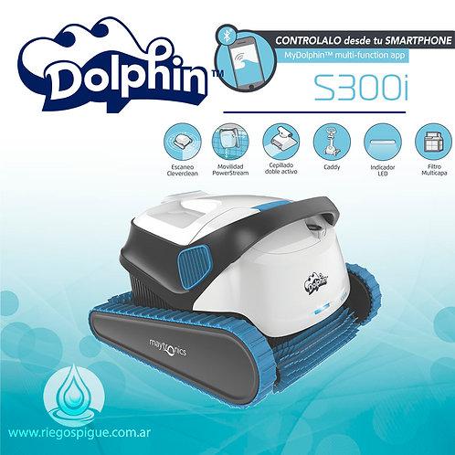 ROBOT DOLPHIN S300I BARREFONDO DE PILETA BLUETOOTH (TREPA PARED)