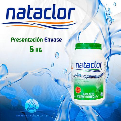 CLORO INSTANTANEO ACTIVO DE 5 KILOS NATACLOR RINDE +