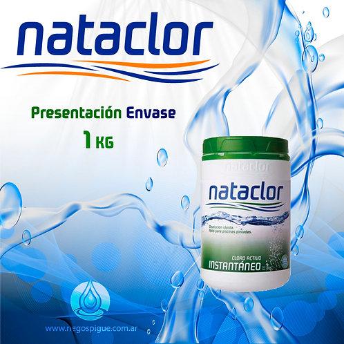 CLORO INSTANTANEO ACTIVO DE 1 KILO NATACLOR RINDE +