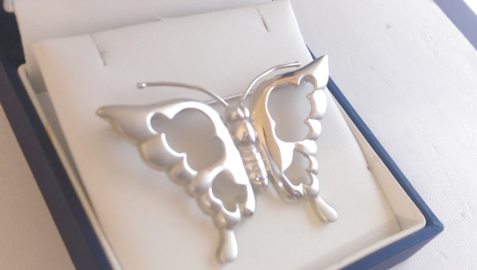 925 Sterling Silver Brooch
