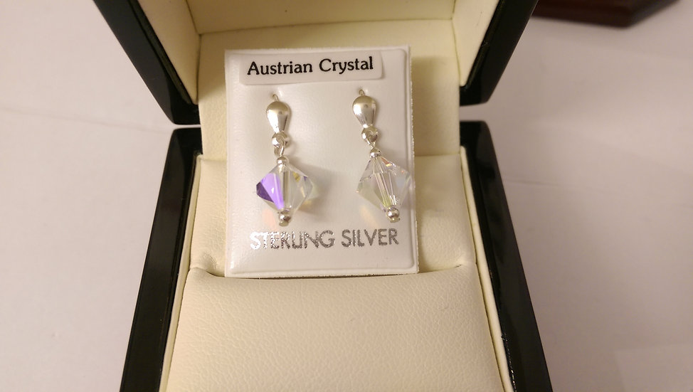 925 Sterling Silver Dropper Earrings