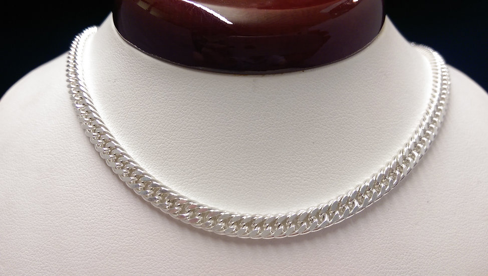 925 Sterling Silver Curb Chain 22 inches