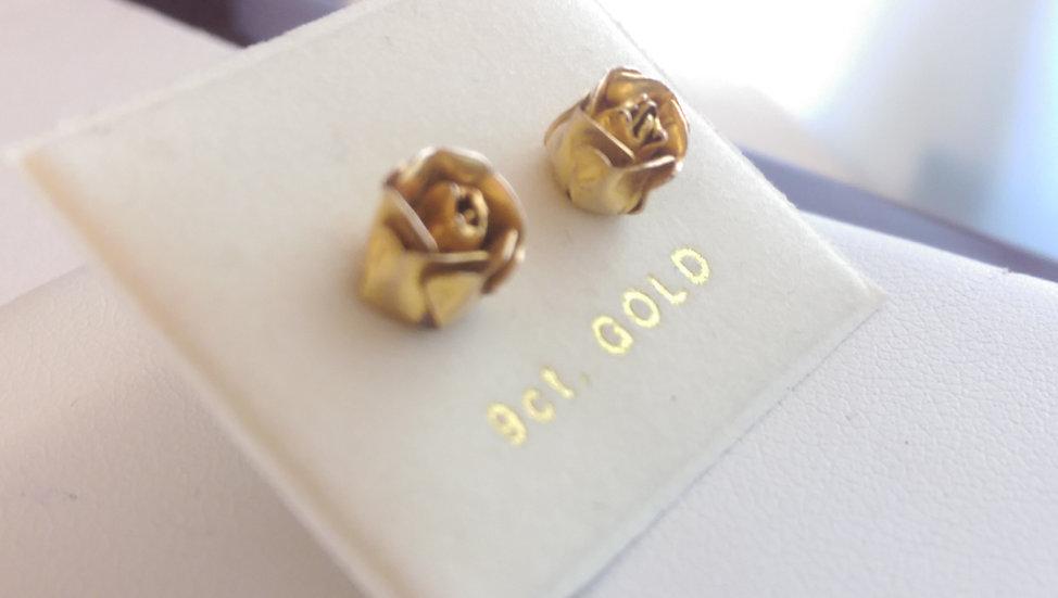 9ct Rose Gold Earrings