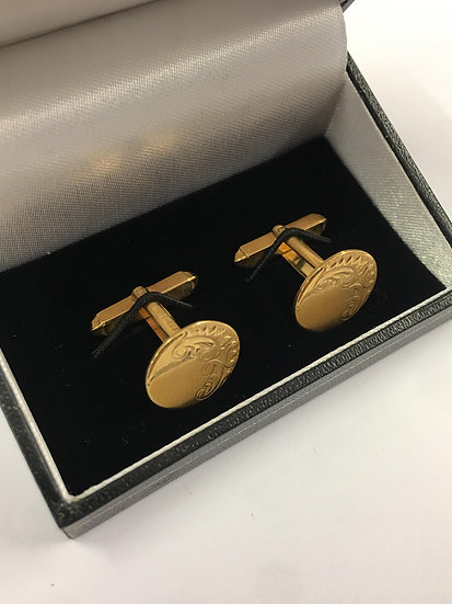 Second Hand 9ct Gold Facny Cufflinks