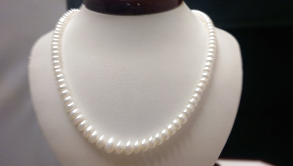 925 Sterling Silver Fresh Water Pearl Necklace