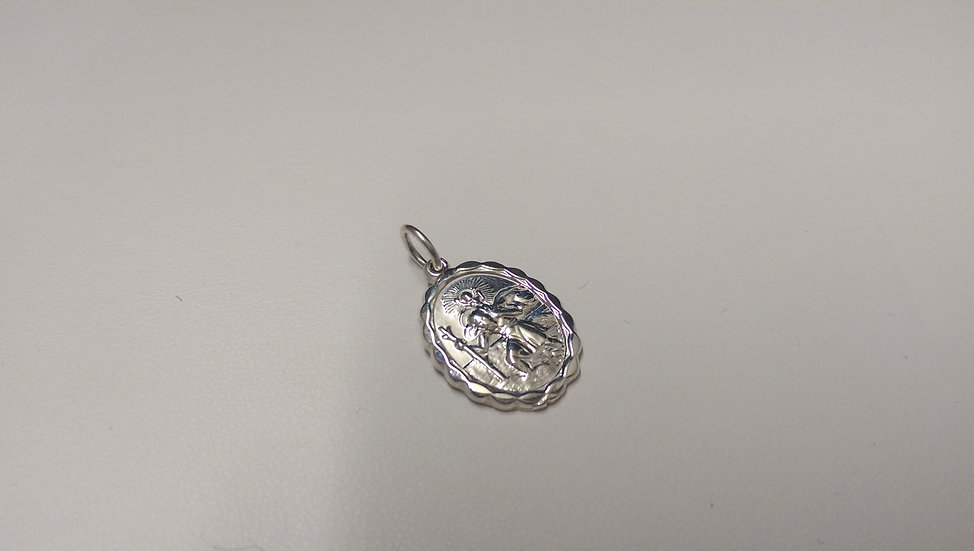 925 Sterling Silver St. David Pendant