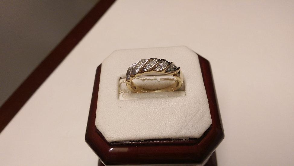 Second Hand 9ct Gold Diamond Ring