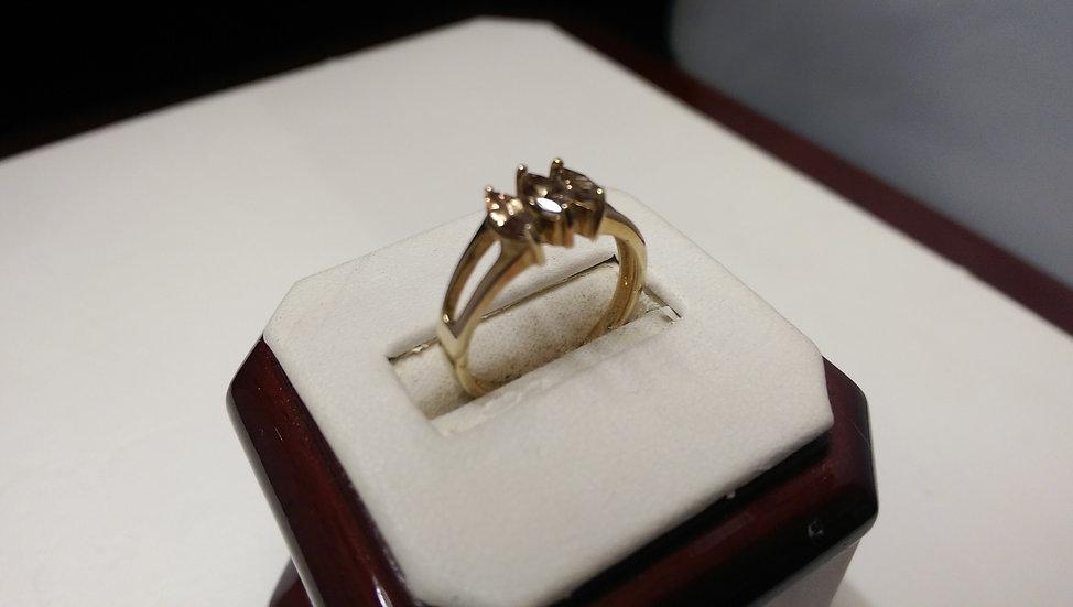 Second Hand 9ct Gold Quartz Ring