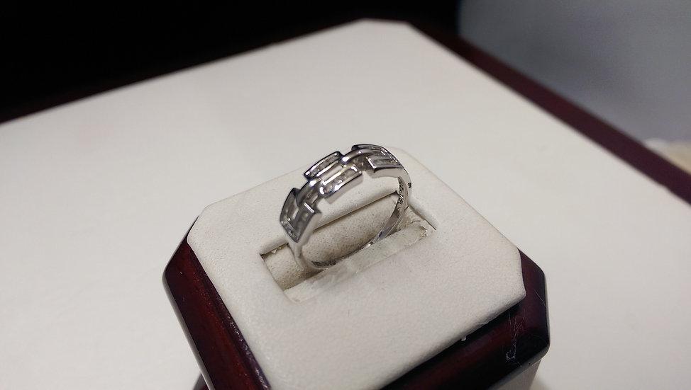 Second Hand 9ct White Gold 0.15ct Diamond Ring